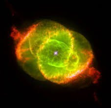 The Cat's Eye Nebula (NGC 6543). Credit: J.P. Harrington and K.J. Borkowski (University of Maryland), and NASA/ESA